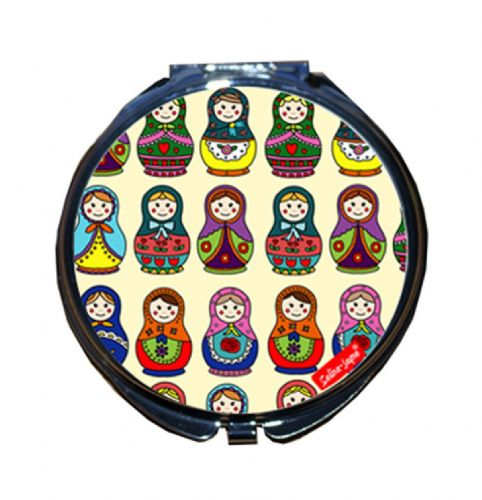 Selina-Jayne Russian Dolls Limited Edition Compact Mirror